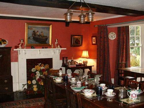 The dining room at Allenbrook